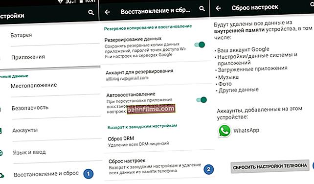 Como redefinir o telefone para as configurações de fábrica (ou seja, excluir todos os dados do telefone, tablet)