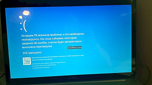"""Tela azul do Windows 10: """"Seu PC tem um problema ..."""" (seguido pela reinicialização do computador)"""